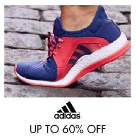 Upto 60% off on Adidas Shoes low price