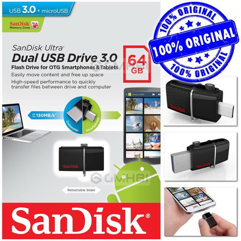 Loot Deal - SanDisk 64GB 3.0 OTG Pendrive at Lowest Online Ever discount offer