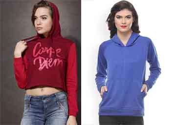 Grab Womens Sweaters & Sweatshirts Starting From Rs. 499 discount offer