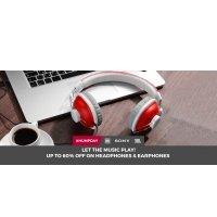 Headphones & Earphones Upto 60% OFF discount offer