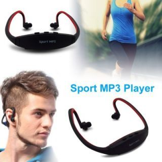Premium Quality Sports MP3 Neckband player at FLAT 50% OFF + Extra 10% OFF discount offer