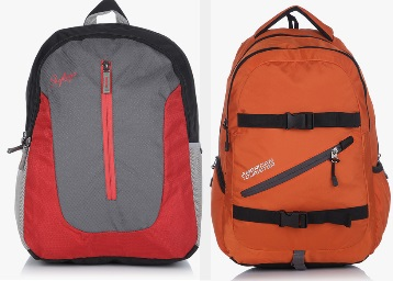 Branded Backpacks Under Rs. 1499 + Extra Rs. 500 Off + 10% Cashback discount offer