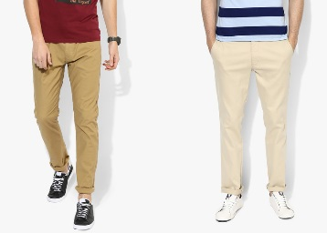 Casual Trousers Under Rs. 1499 + Extra Rs. 500 Starting at Rs. 499 discount offer