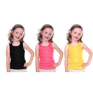 Combo/Black/Peach/Yellow Kids Plain Top 92% off + free shipping discount offer