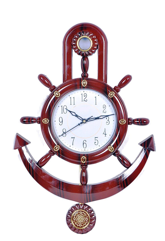 JaipurCrafts Decorative Retro High Quality Wall Clock at FLAT 75% OFF discount offer