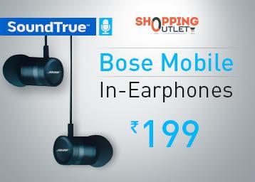 Bose Mobile In-Earphones Dark Blue-OEM at FLAT 93% OFF discount offer