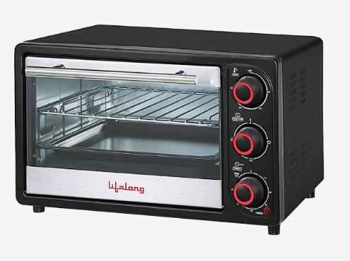Lifelong 16L Oven Toaster Griller – OTG (Black) Lowest Online discount offer