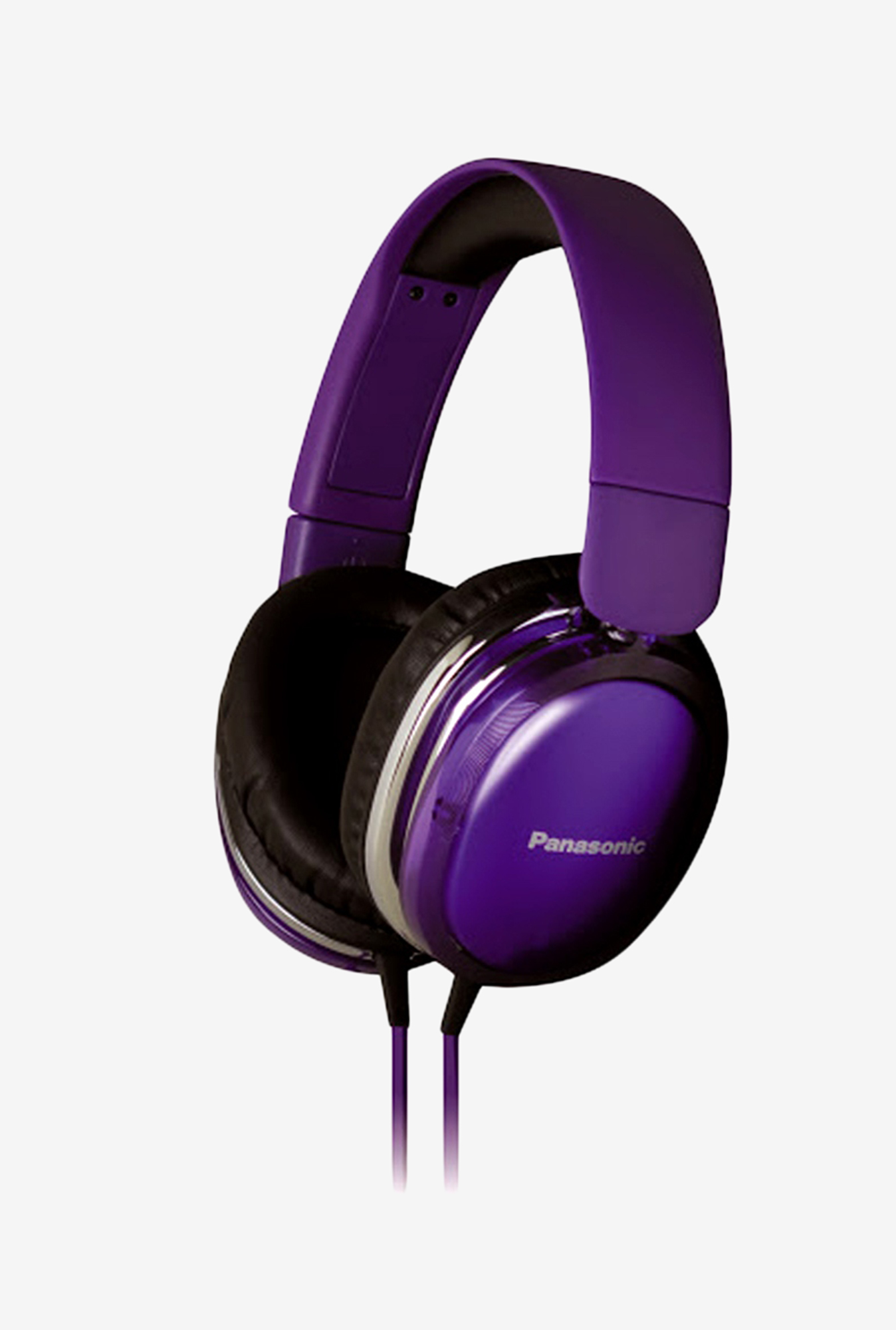 Get Panasonic RP-HX350ME Over-Ear Headphone (Violet) at FLAT 85% off discount offer