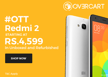 #OTT Sale :- REDMI 2 Mobiles, starting at Rs. 4599 in Unboxed & Refurbished discount offer