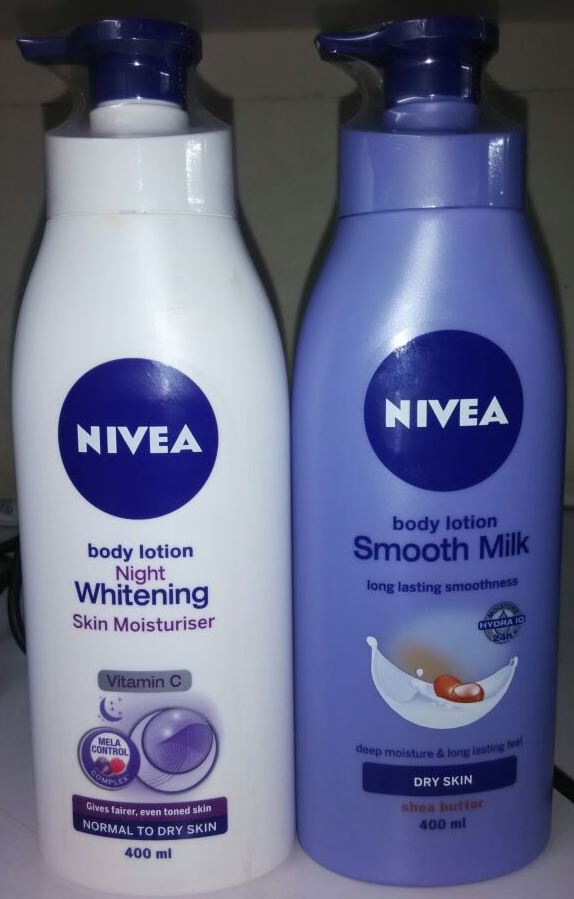 Nivea Smooth Milk + Night Whitening Body Lotion 400ml at 51% off discount offer