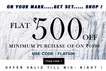 Yepme – FLAT Rs. 500 off on purchase of 1099 + Extra 25% off On Online Payment discount offer