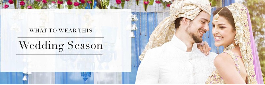 Wedding Season Fashion – Get Upto 75% off (Lehengas, Watches & More) discount offer