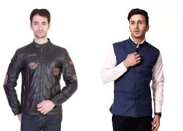 Grab Men Jackets at Minimum 60-90% Off discount offer