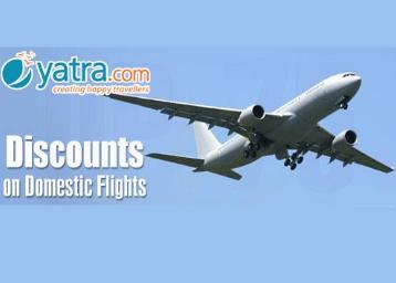 Domestic Fares starting Rs.732 On Jet Airways, GoAir, SpiceJet, IndiGo, Air Asia & Vistara discount offer