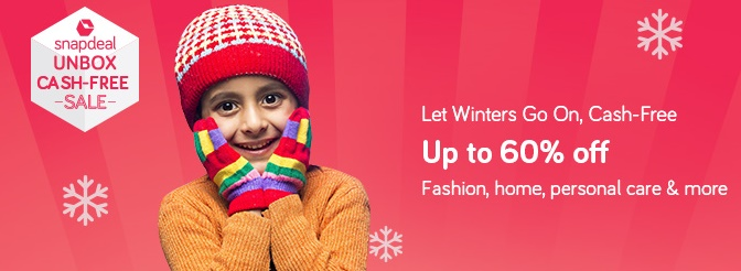Get Upto 60% off on winter Essentials + extra 10% via HDFC cards discount offer