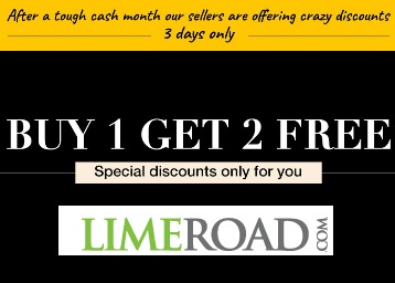 First Time ever – Get Buy 1 Get 2 Free On Everything {Only for 3 Days} discount offer
