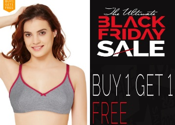 Zivame Black Friday Sale – Buy 1 Get 1 Free On Everything discount offer