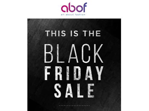 Black Friday Sale – Get Upto 60% Off on Clothing & Accessories & More discount offer