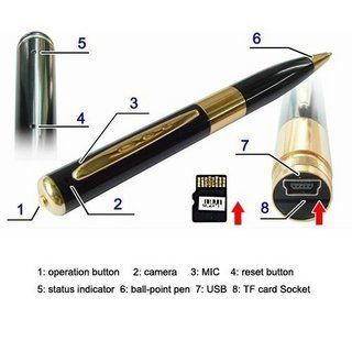 Spy Pen Camera Expandable Upto 32gb 90% OFF discount offer