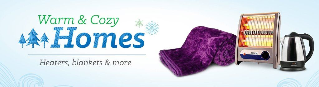 Amazon Warm & Cozy Home Sale :- Get Great Prices on All Products For Winter Needs discount offer