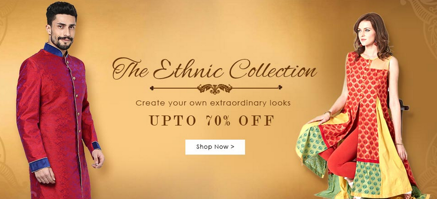 Yepme Ethnic Collection – Upto 70% OFF Starts Rs.149 + Extra 20% OFF discount offer