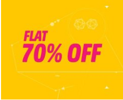Myntra Get Flat 70% Off On Everything + Extra 15% Cashback discount offer