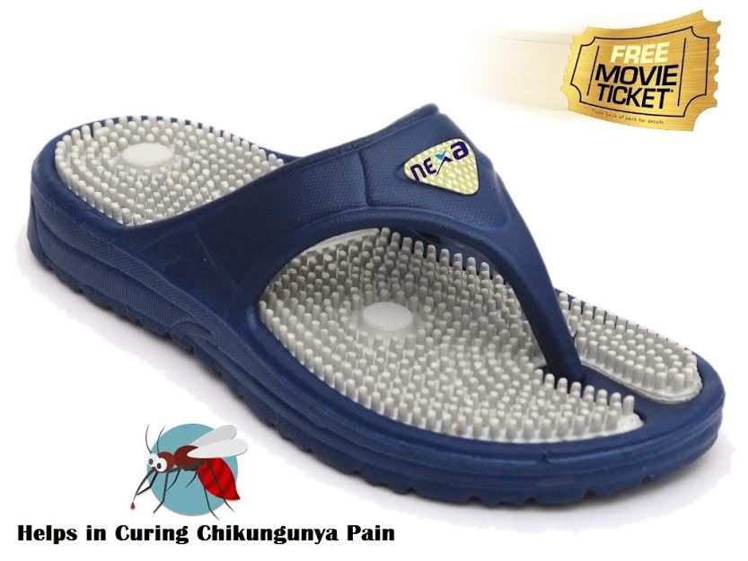 Grab a FREE Movie Ticket with Nexa Acupressure Slippers discount offer