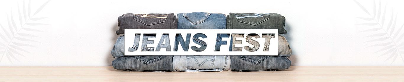 Jeans Fest Men Jeans Under Rs.399 + 10% Cashback at Shopclues discount offer