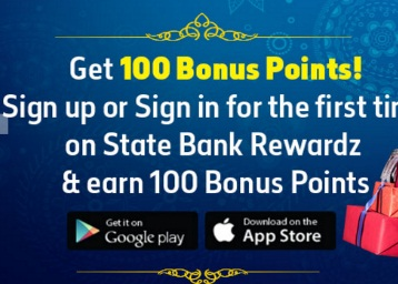 [SBI Users] Get 100 State Bank Rewardz Points on First Time App Install and Signup/Sign in discount offer