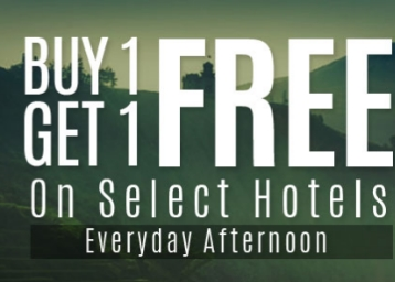 [Only For Today] Buy 1 Get 1 FREE on Hotels + More Offers discount offer