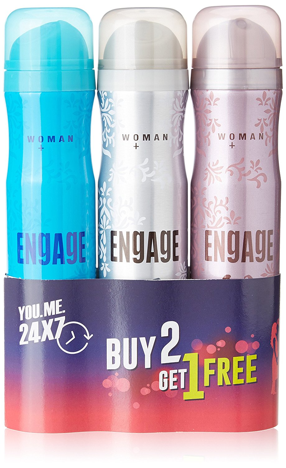 Lightning Deal – Engage Deo 150ml (Buy 2 get 1 Free) discount offer