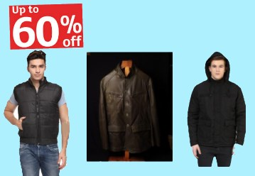 Get Men's Winter Wear starting from Rs. 345 + More Offers Inside discount offer