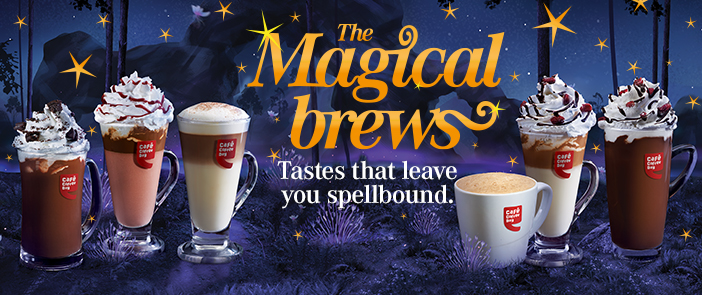 Rs.100 Sign Up Bonus & Extra Rs.150 On Purchase Any Magical Brews discount offer