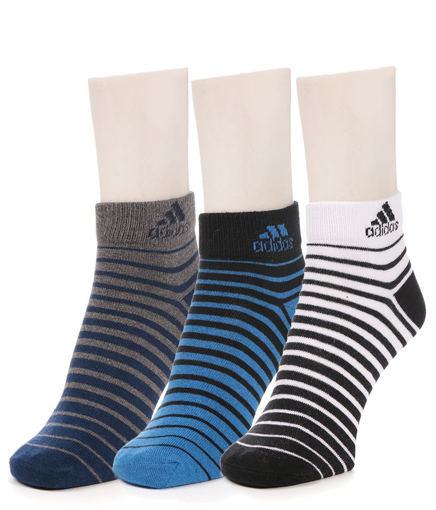 Adidas Multi Casual Ankle Length Socks low price