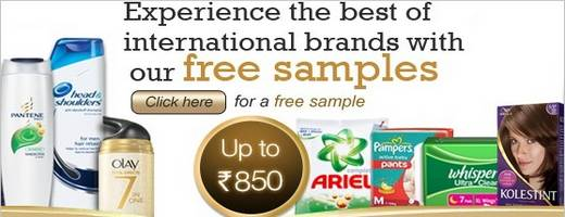 Procter and gamble free samples in india antique slot machine show