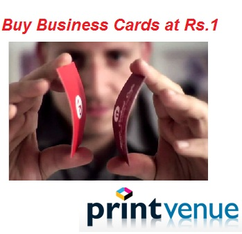 Flat rs500 off on rs999 get premium business cards at rs12 freekaamaal reheart Image collections