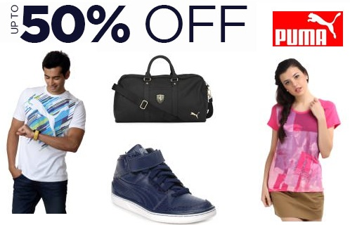 e3be50435cc7 Puma 50% OFF - On Apparels   Footwears   Myntra at FreeKaaMaal.com
