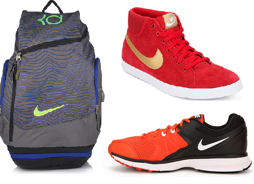 Nike Shoes And Casual Backpack Bag at Upto 70% Off+ Extra Rs. 600 off on Rs.  2000 at FreeKaaMaal.com