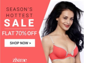 a57f78303c92 Zivame Padded, Push Up BRAS at FLAT 70% off + 20% Cashback at ...