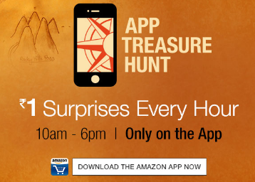1 Surprise Every Hour @Amazon App !! Claim Your Product @Rs