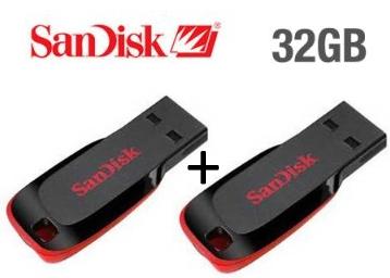 a06711ba8 Loot Deal - SanDisk USB 2.0 32 GB Pen Drive (Pack Of 2)   271 at  FreeKaaMaal.com