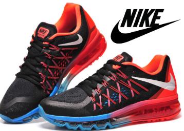 4e30ace644 ... Nike AirMax 2015 Black Red Blue at Flat 83% off. Freekaamaal.com
