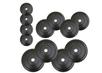 Headly 45 kg rubber weight plate at lowest online at freekaamaal.com