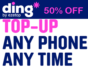 Ding Coupons - Discount and Offers for 09 Sep 2019