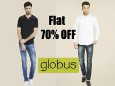 Great Deal:- Flat 70% Off On Globus, Starts at Rs. 208 + FREE Shipping