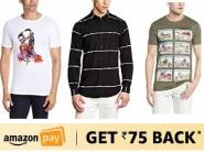 COLT T- shirts @ Rs. 119, Shirts @ Rs. 204 [Buy 2 & Get Rs. 75 Cashback]