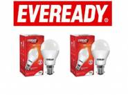 Eveready Base B22D 9-Watt LED Bulb (Pack of 2) at Just Rs. 199 + FREE Shipping