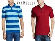 Van Heusen Clothing at Minimum 60% off + Free Shipping