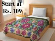 Grab Fast - Flat 80% OFF On IWS Cotton Bedsheets From Just Rs. 109 + FREE Shipping