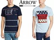 Get Arrow T shirts at Flat 70% Off From Rs. 299 + FREE SHIPPING